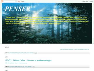 Capture du site http://trib1.blogspot.com