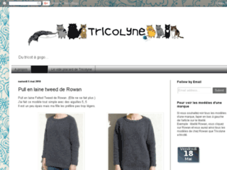 Blog d'une tricoteuse - Tricolyne du tricot à gogo