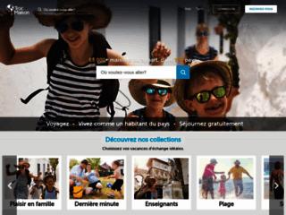 Page d'accueil de Trocmaison.com