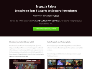 Site du casino tropezia palace poker blackjack