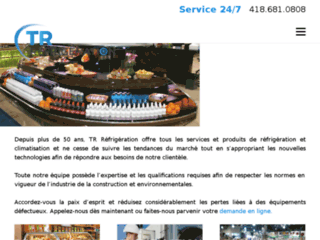 Détails : Réfrigération Québec  – TR Réfrigération