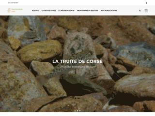 Le site de la truite corse