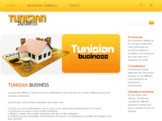 Portail des affaires en Tunisie