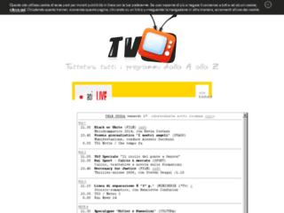 TuttoTivu tutti i programmi tv dalla A alla Z