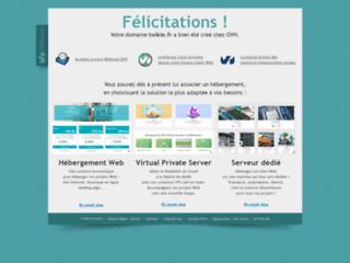Capture du site http://twikle.fr