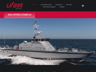 Détails : Ufast, contruction navale