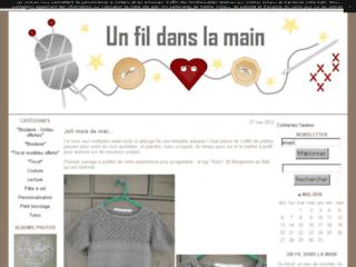 Blog de tricot- Un fil dans la main