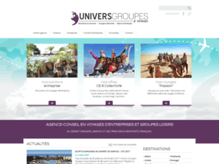 Agence Univers Groupes Voyages