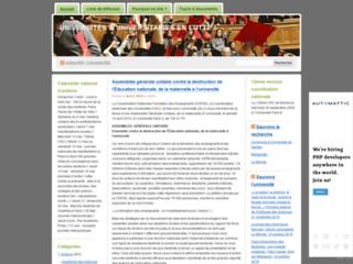 Image Universités & Universitaires en lutte
