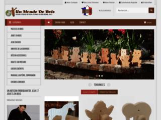 Fabrication artisanale de jouets en bois - Un Monde De Bois
