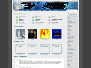 Info: Scheda e opinioni degli utenti : UnsignedBandWeb.com - Musica e artisti Emergenti