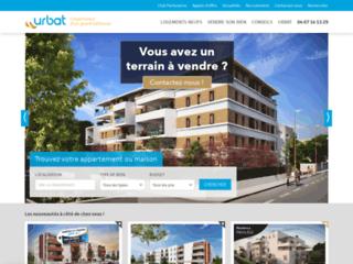 Capture du site http://www.urbat.com/