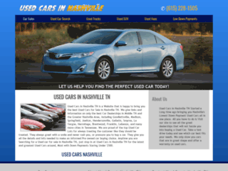 Used Car Search Nashville