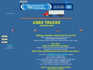 Image Used trucks system club