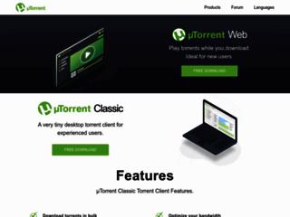 Info: Scheda e opinioni degli utenti : µTorrent - Il Client BitTorrent leggero e veloce - scarica uTorrent