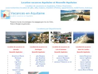 Location vacances AQUITAINE, locations nouvelle-aquitaine de particuliers