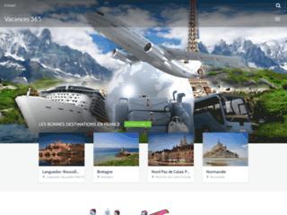 Détails : Vacances 365