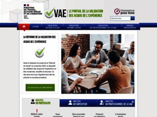Détails : VAE validation professionnelle