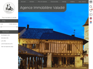 Agence immobiliere Valadie