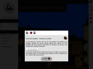 Aperçu du site Valadié Immobilier