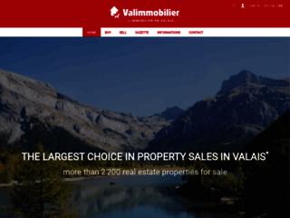 Immobilier en Valais (Suisse)