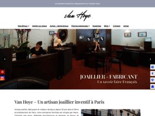 Détails : Van Hoye, créateur de bijoux sur mesure