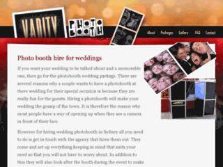 Wedding Photo Booth   Vanityphotobooth.com.au