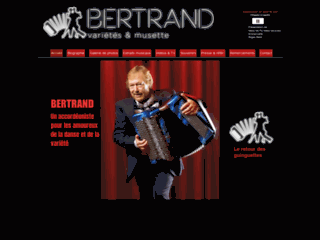 Bertrand - Danse et accordéon en Suisse