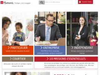 Capture du site http://www.vaubanhumanis.com