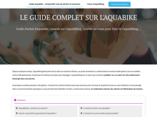 Site de comparatifs d'aquabike