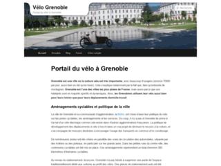 Capture du site http://www.velo-grenoble.fr