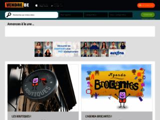 VENDRE.BE: un site qui diffuse des petites annonces gratuites