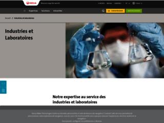 Capture du site http://www.veoliawatersti.fr