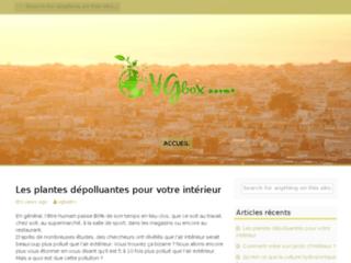 Dépollution de l'air intérieur par les plantes sur http://www.vgbox.fr/biofiltre/