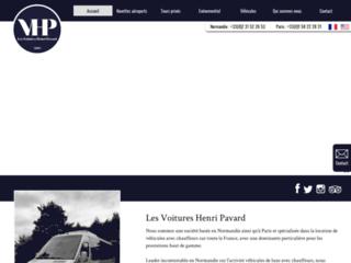 Détails : Les Voitures Henri Pavard - transport et navettes aéroport à Caen