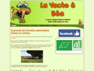 Capture du site http://www.viande-limousine.fr