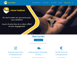 Détails : Victor Habitat, votre serrurier clé en main