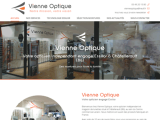 Vienne Optique, opticien indépendant à Châtellerault dans la Vienne