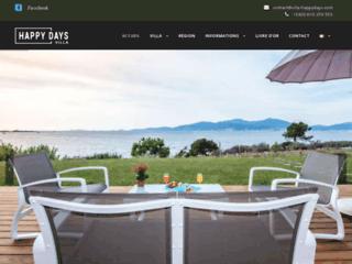 Happy Days: Villa de Luxe Corse en Location Saisonnière