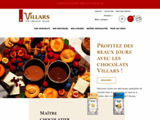 Détails : Boutique en ligne de chocolats suisse