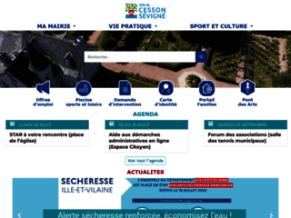 Cesson-Sévigné - Site officiel.