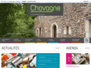 Site internet de la ville de Chavagne