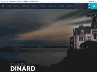 Dinard - Site officiel de la Mairie.