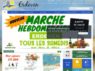 Erdeven - Site officiel.