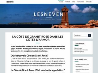 Site officiel de la ville de Lesneven.