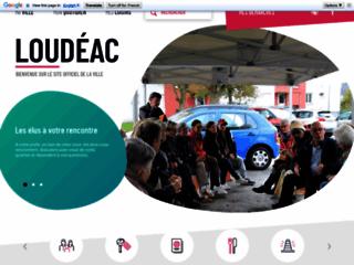 Loudéac - Site officiel de la mairie.