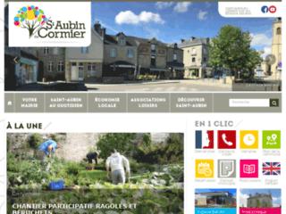 Bienvenue à Saint-Aubin-du-Cormier