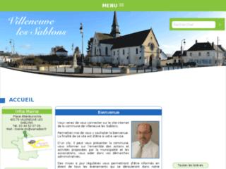 Détails : Villeneuve les Sablons - site internet de la commune