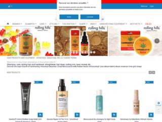 Vision-hair vente en ligne de shampooing et soin professionnel