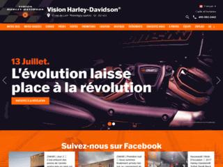 Moto à vendre - Vision Harley